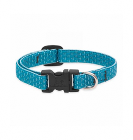 "Lupine Lupine Eco Collar Dog 3/4"" x 9-14"" Tropical Sea"