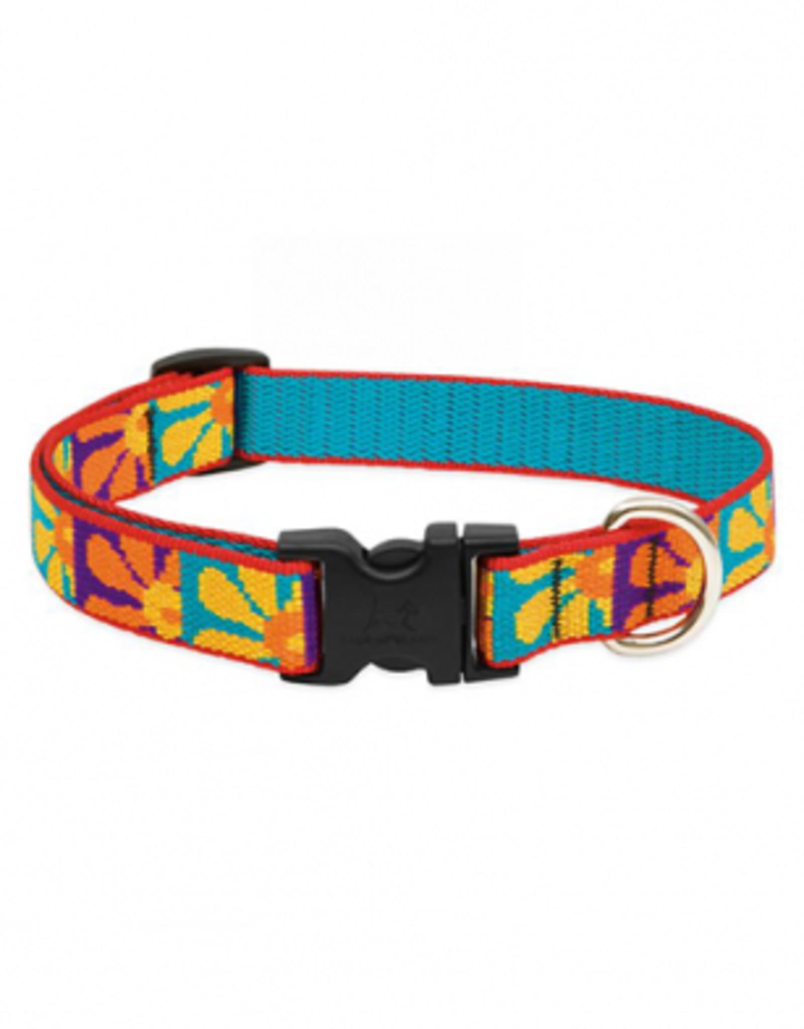 "Lupine Lupine Collar Dog Crazy Daisy 3/4"" x 9-14"""