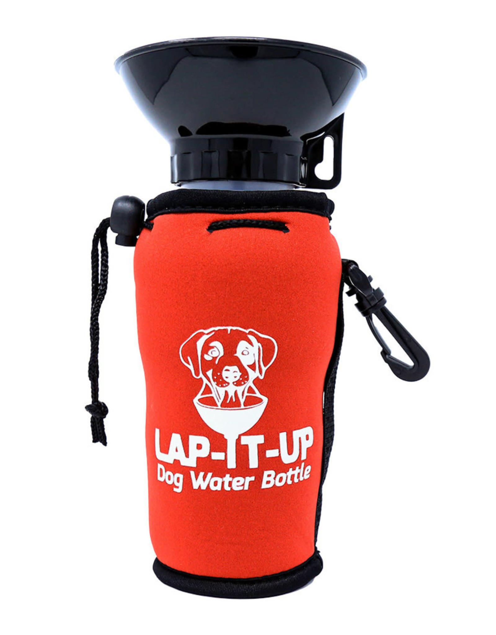 Lap It  Up Lap It Up Dog Waterbottle Red