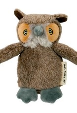 """Tall Tails Tall Tails Plush Owl Squeaky Toy 5"""""""