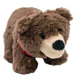"Tall Tails Tall Tails Plush Bandana Bear Squeaky Toy 5"""