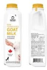 Happy Days Happy Days Dairy Raw Fermented Goats Milk 490 ml