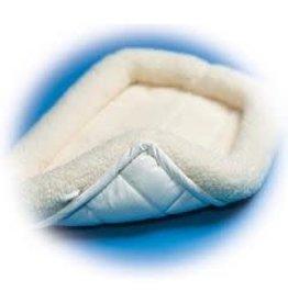 "Mid West Mid West Quiet Time Pet Bed Fleece 24"" White"