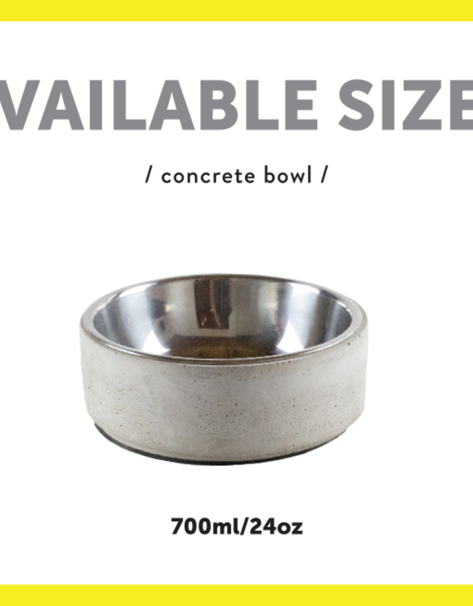 Be One Breed Be One Breed Concrete Bowl Small
