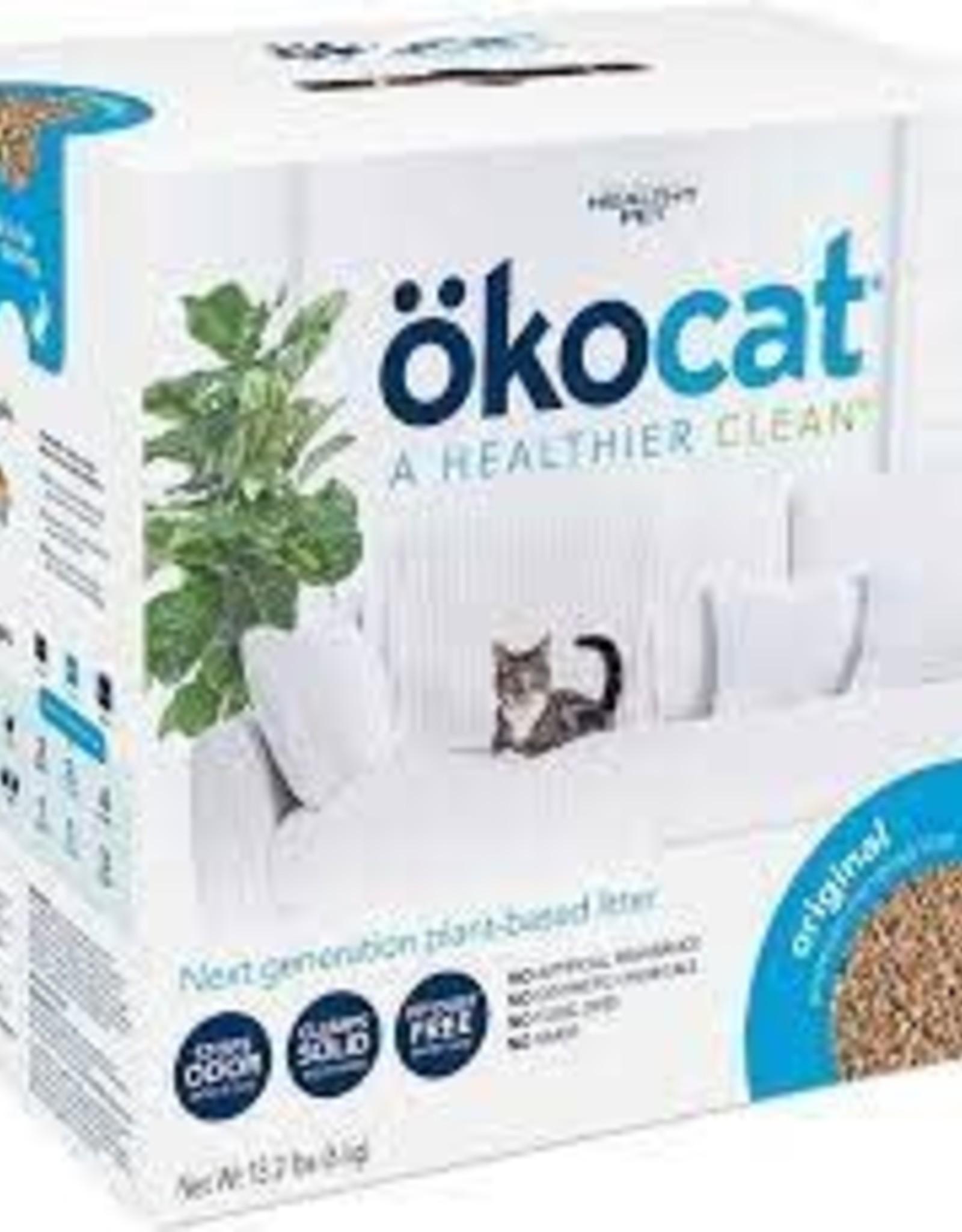 Oko Okocat Natural Wood Litter Clumping Original 9.9 LB