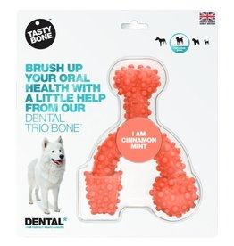 Tasty  Bone Tasty Bone Dental Trio Bone Cinnamon SMALL