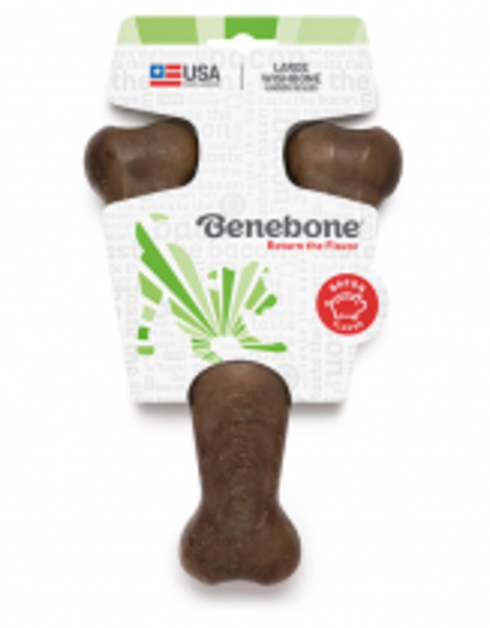 Benebone Benebone Wishbone Bacon Large