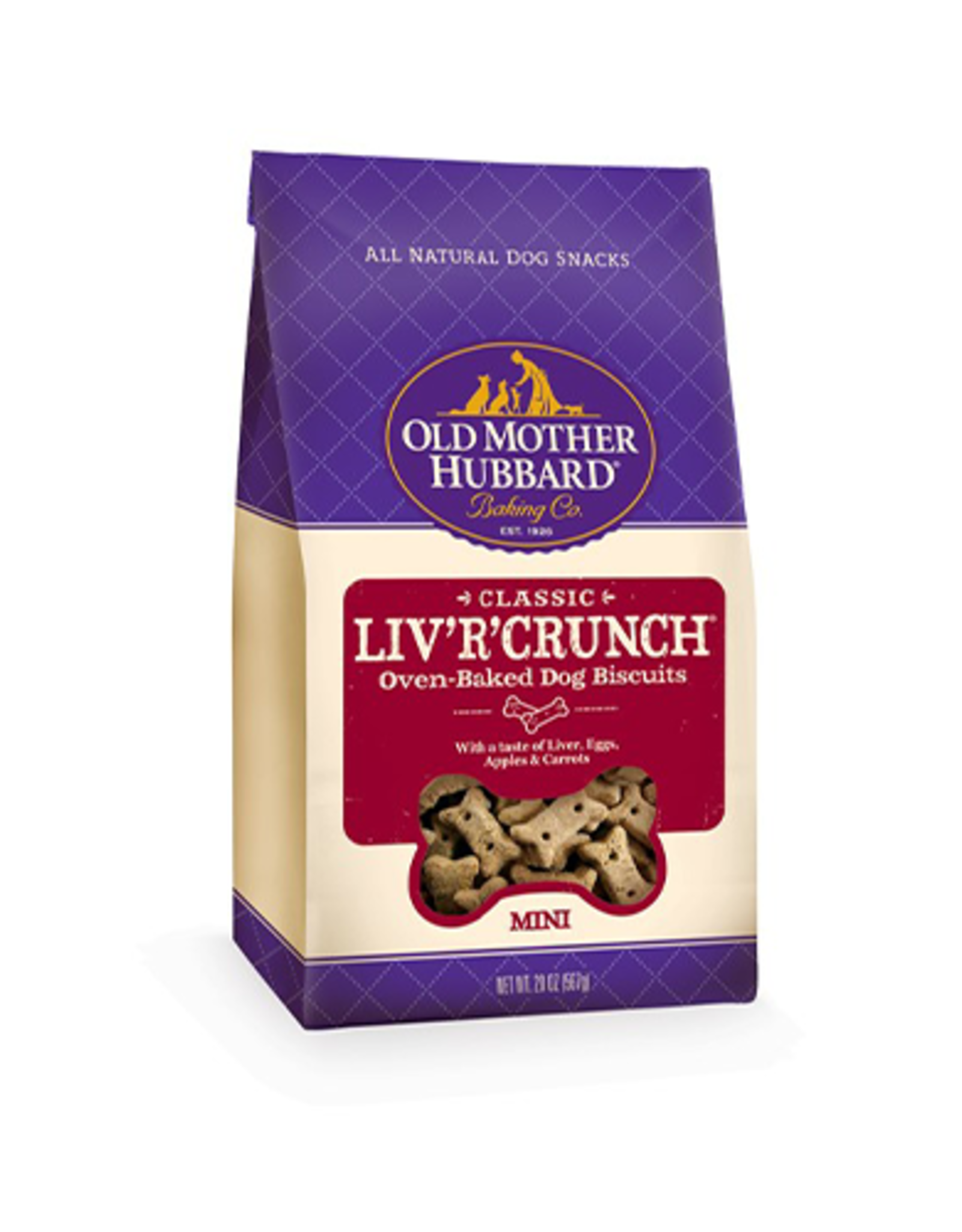 Old Mother Hubbard Old Mother Hubbard Mini LivRCrunch 20 oz