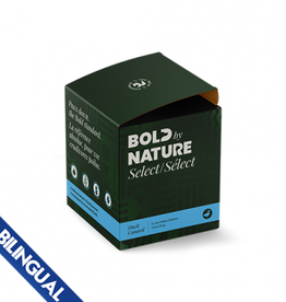 Bold Raw BOLD BY NATURE SELECT DUCK FROZEN DOG FOOD 4 LB BOX (8 X 8 OZ PATTIES)
