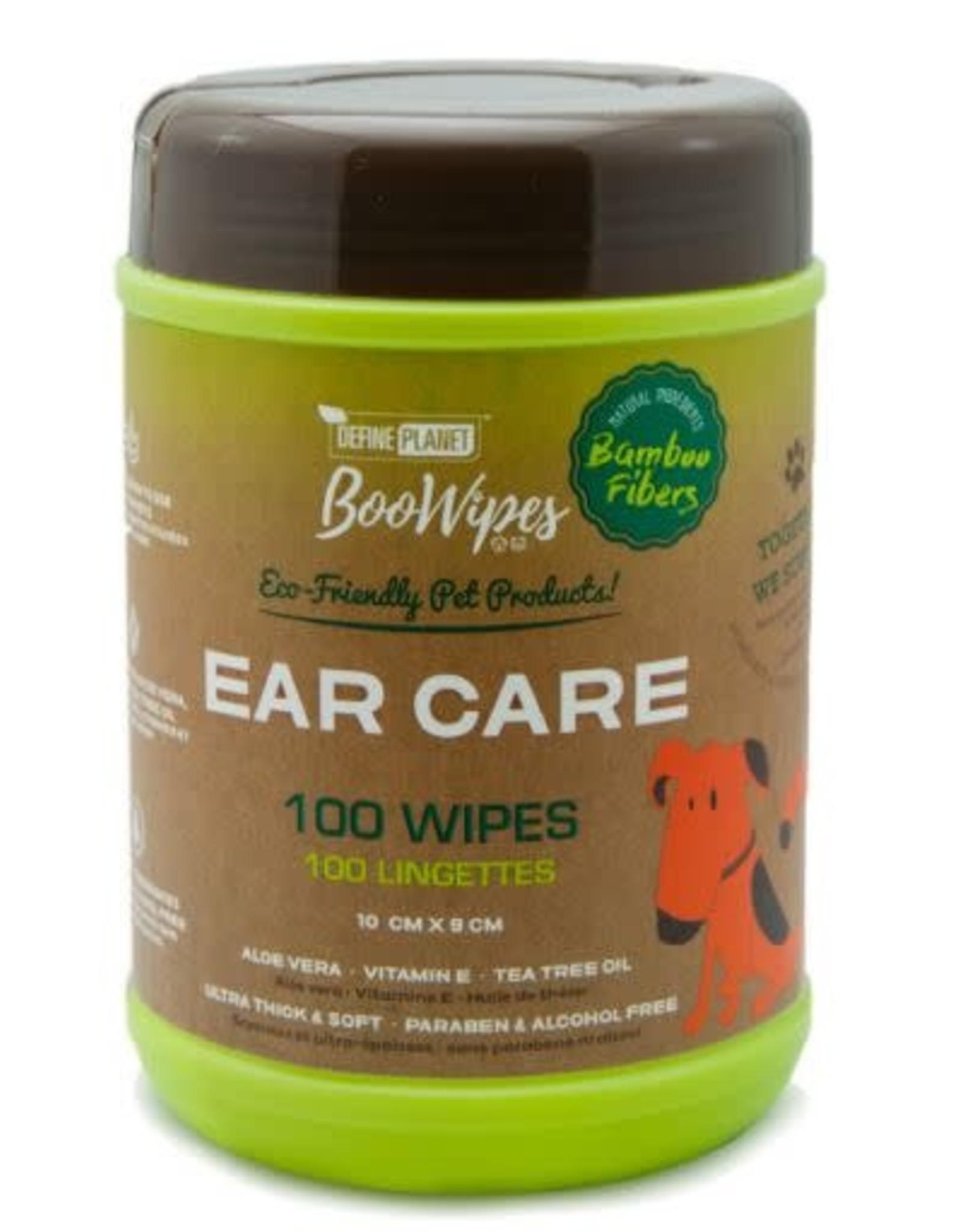 Define Planet Define Planet Bamboo Fiber Ear Care Boo Wipes 100