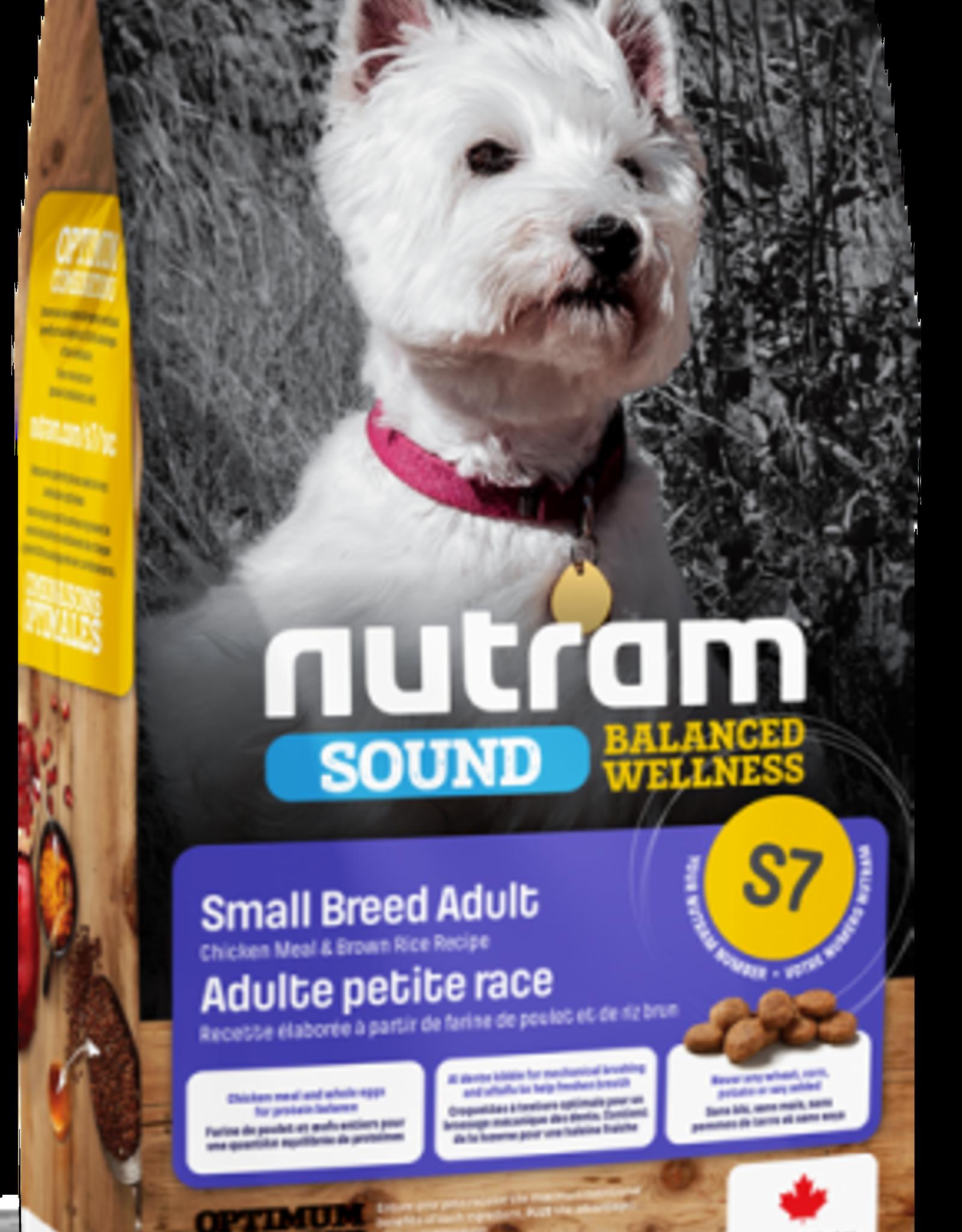 Nutram Nutram S7 Small Breed 12 LB