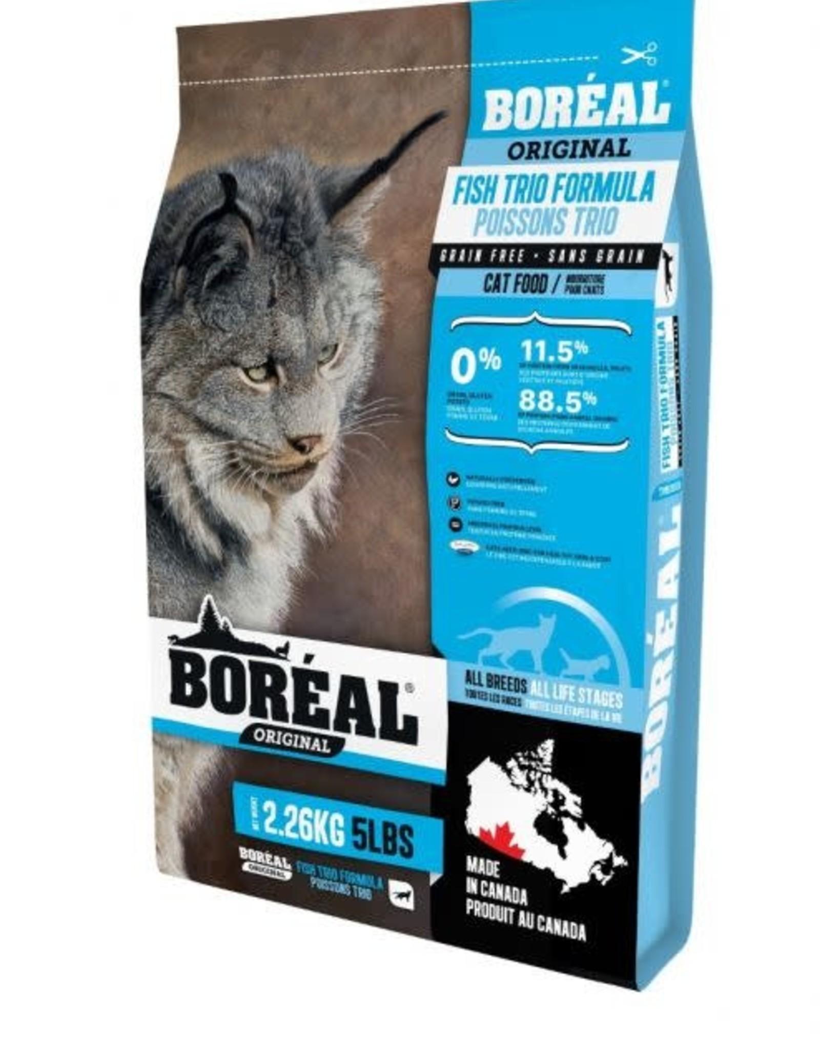 Boreal Boreal Cat Food Fish Trio 5 LB