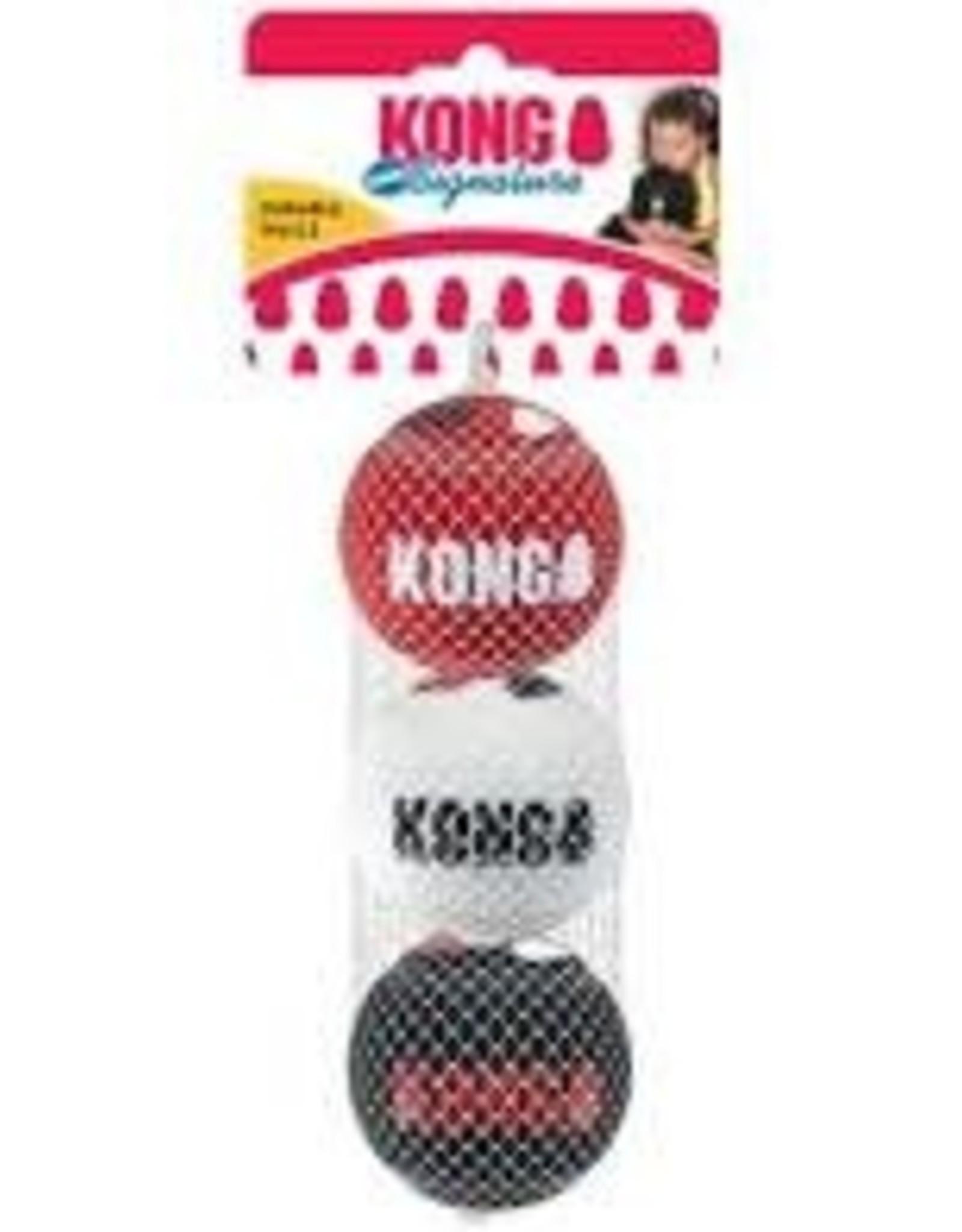 Kong Kong Signature Sports Balls 3 Pack XS