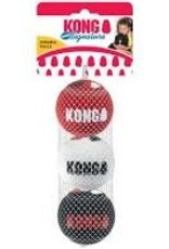 Kong Kong Signature Sports Ball Medium 3 Pack