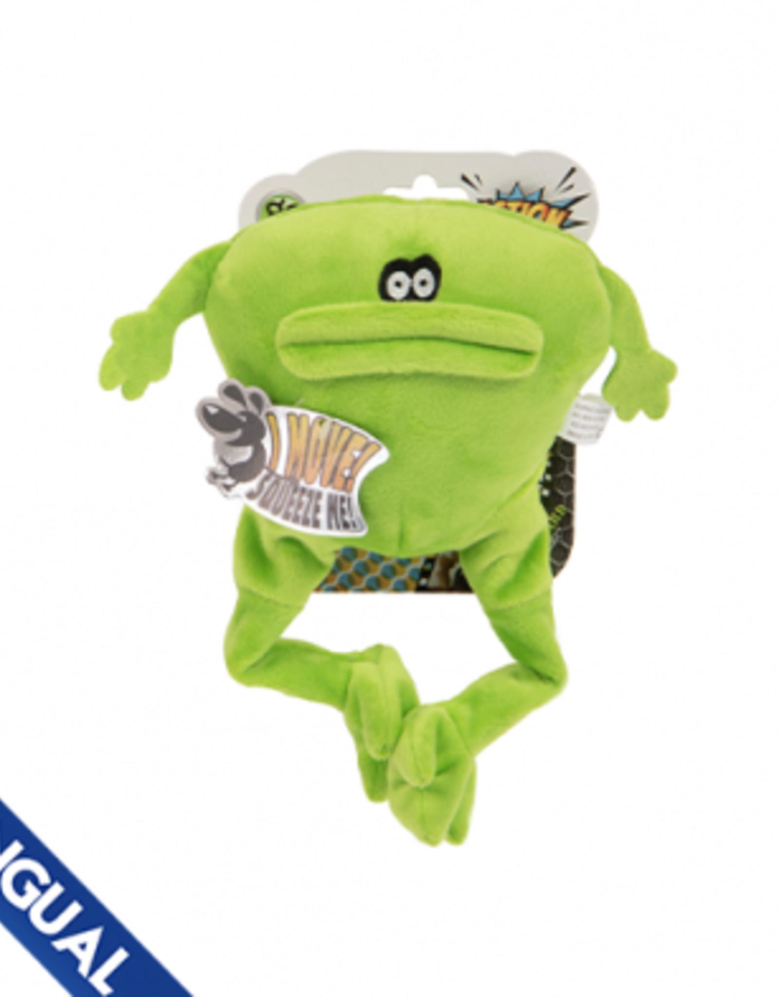 GoDog Go Dog Chew Guard Action Plus Frog