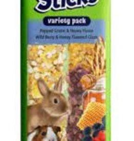 Vitakraft VitaKraft Crunch Sticks  Popped Grains & Honey/Wild Berry  2 Sticks 3.5 oz