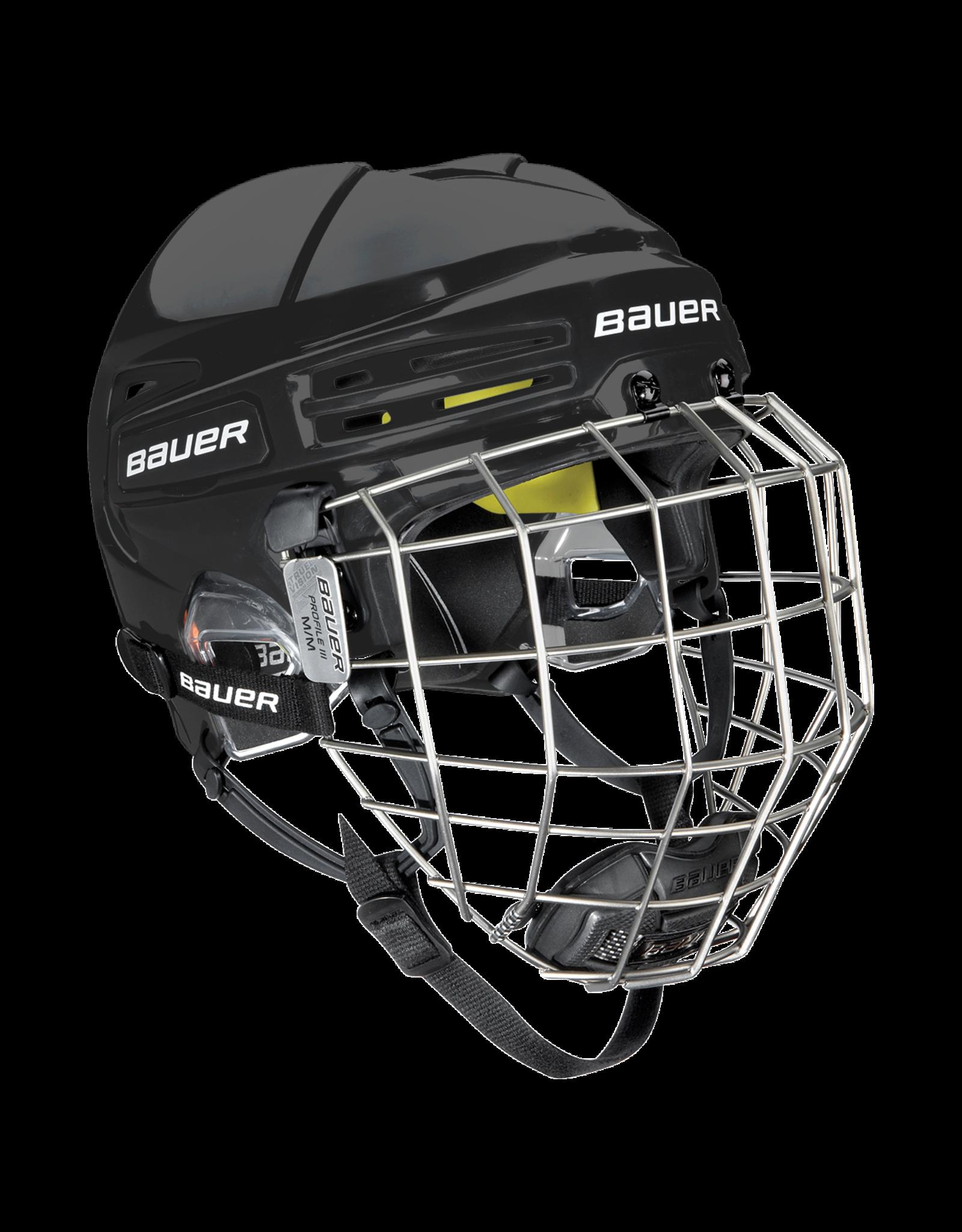 Bauer Hockey - Canada BAUER RE-AKT 75 HELMET COMBO