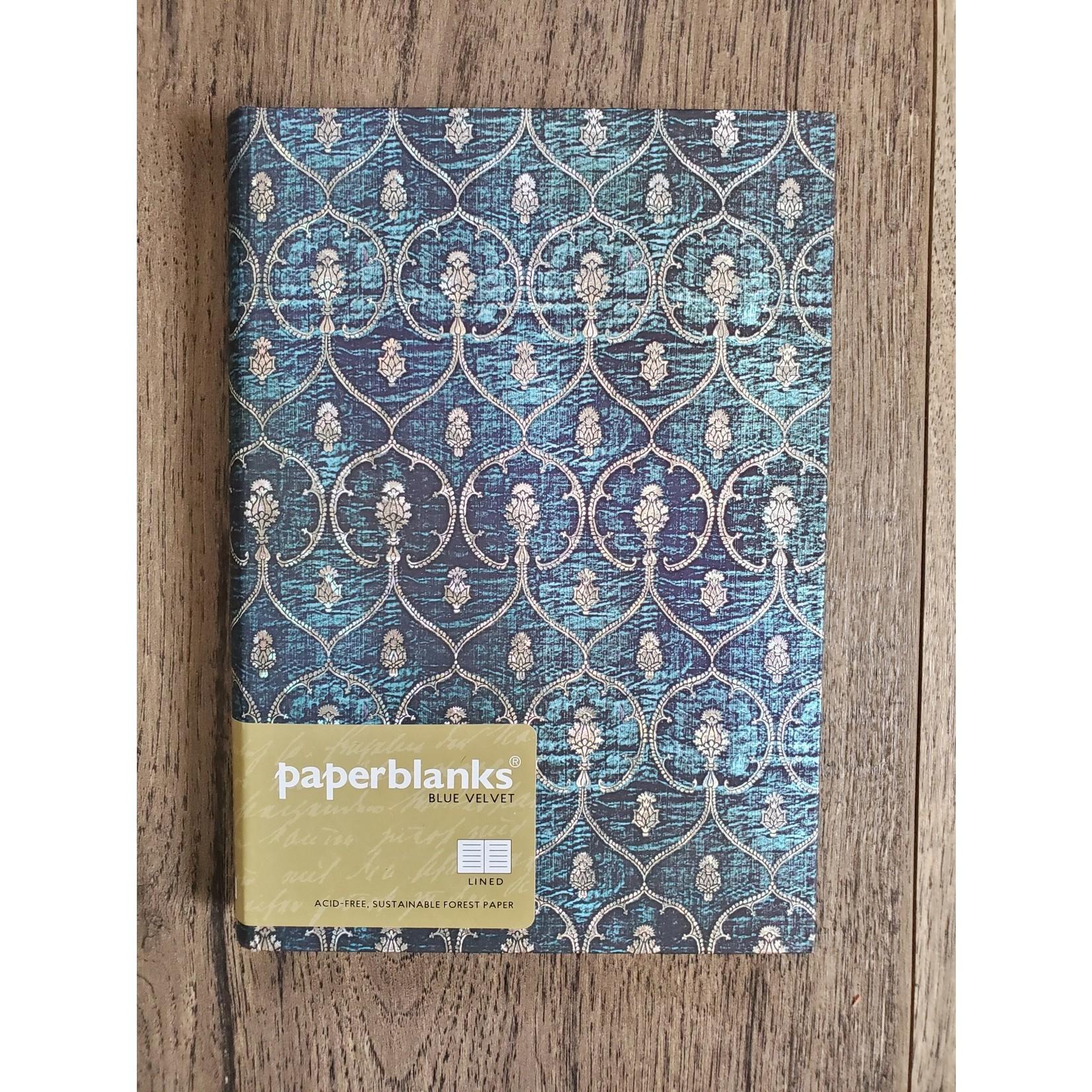 Paperblanks Blue Velvet Journal