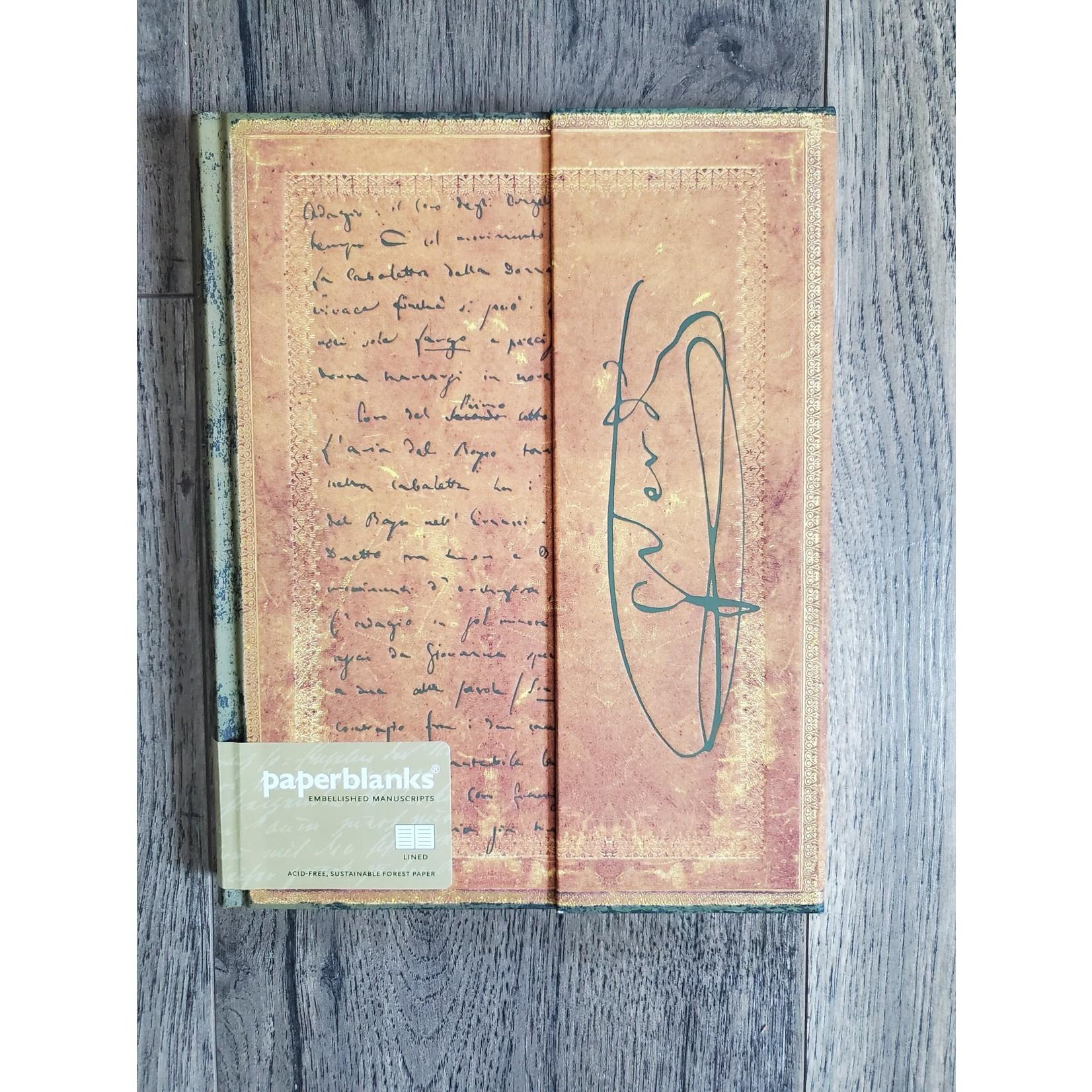 Paperblanks Verdi, Carteggio Journal