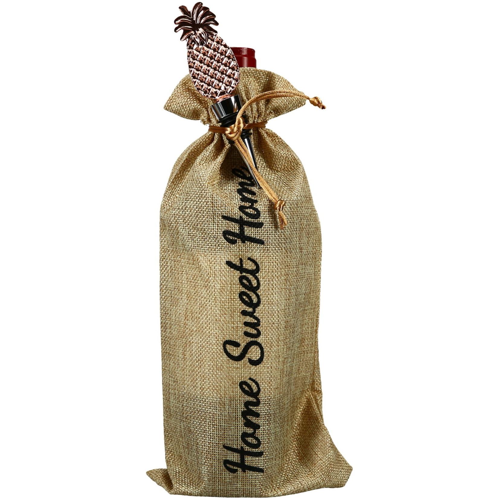Pavilion Gift Co. Barware: Home- Wine Gift Bag Set