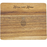 """Pavilion Gift Co. Kitchen: Home Sweet Home- 9"""" Cheese/Bread Board Set"""