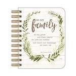 """Legacy Publishing Group Stationary: """" We Are Family"""" Little Spiral Notebook"""