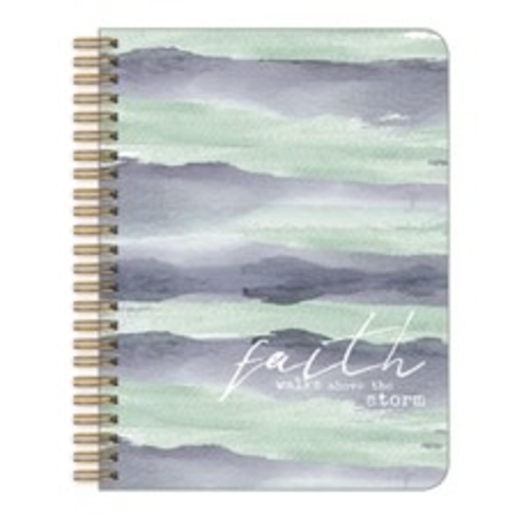 Legacy Publishing Group Medium Notebook: Faith walks Above the Storm