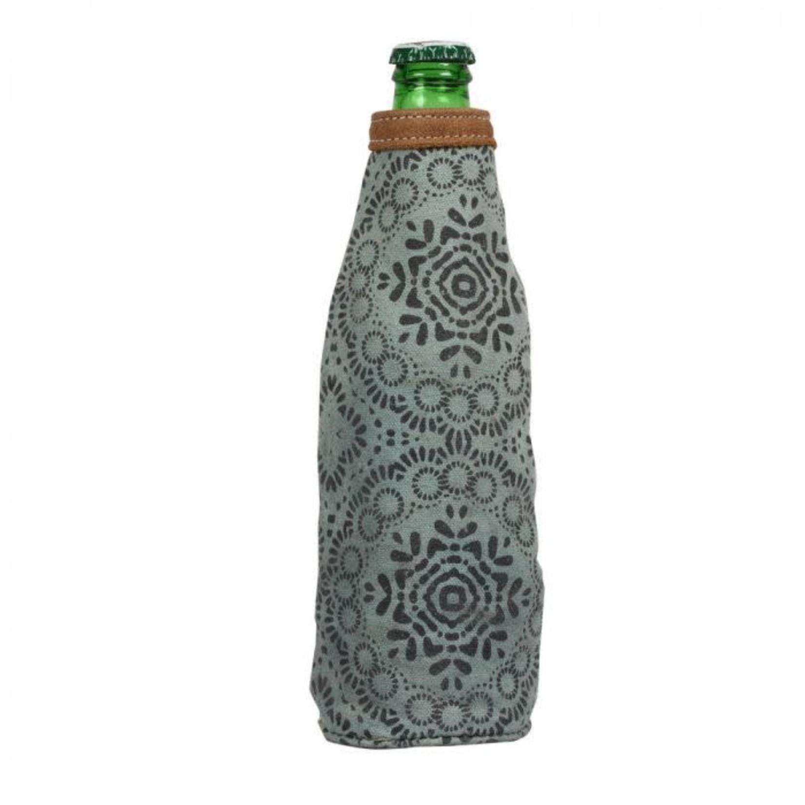 Myra Bag Olive Colored Bottle Koozie
