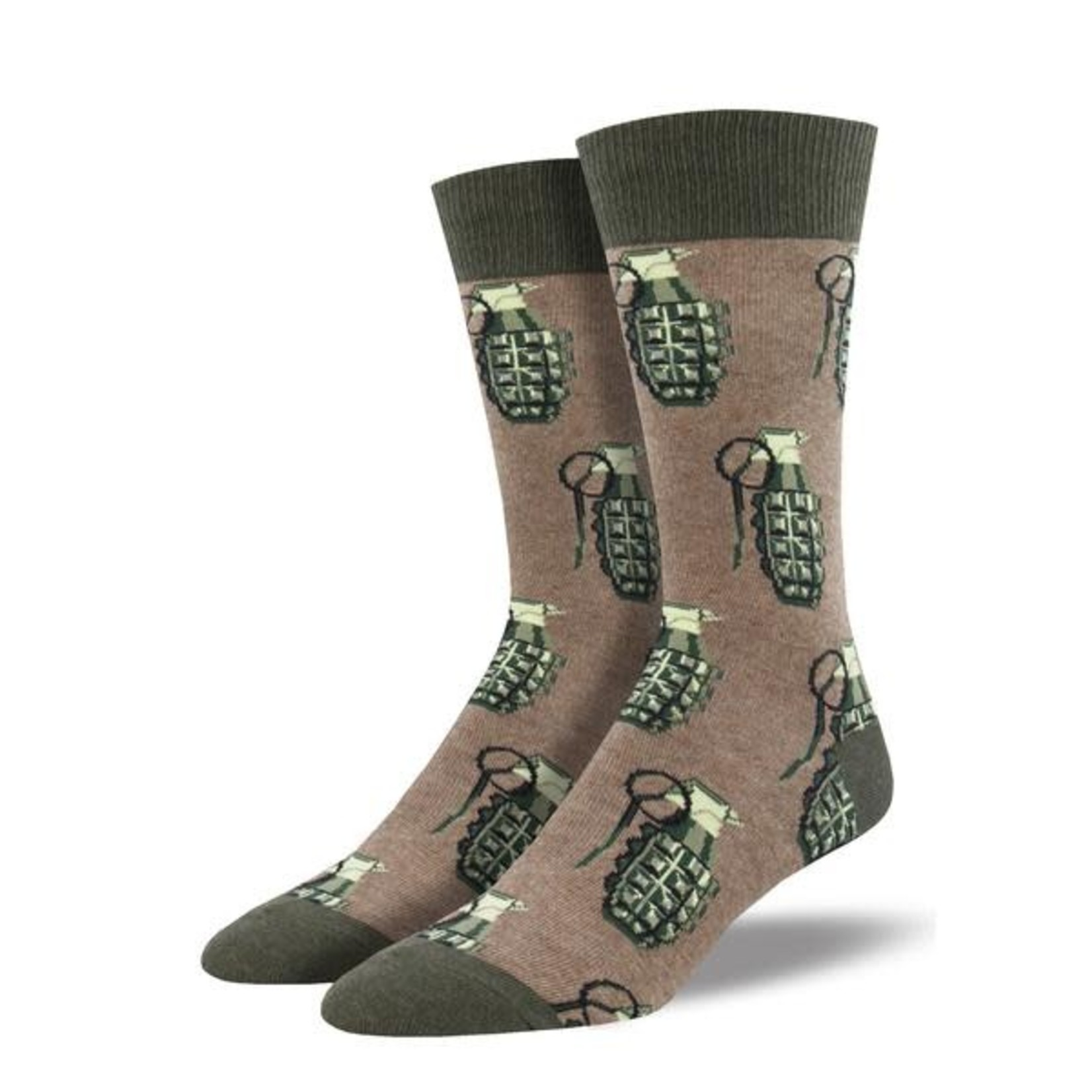 SockSmith Men's Pattern Crew Socks