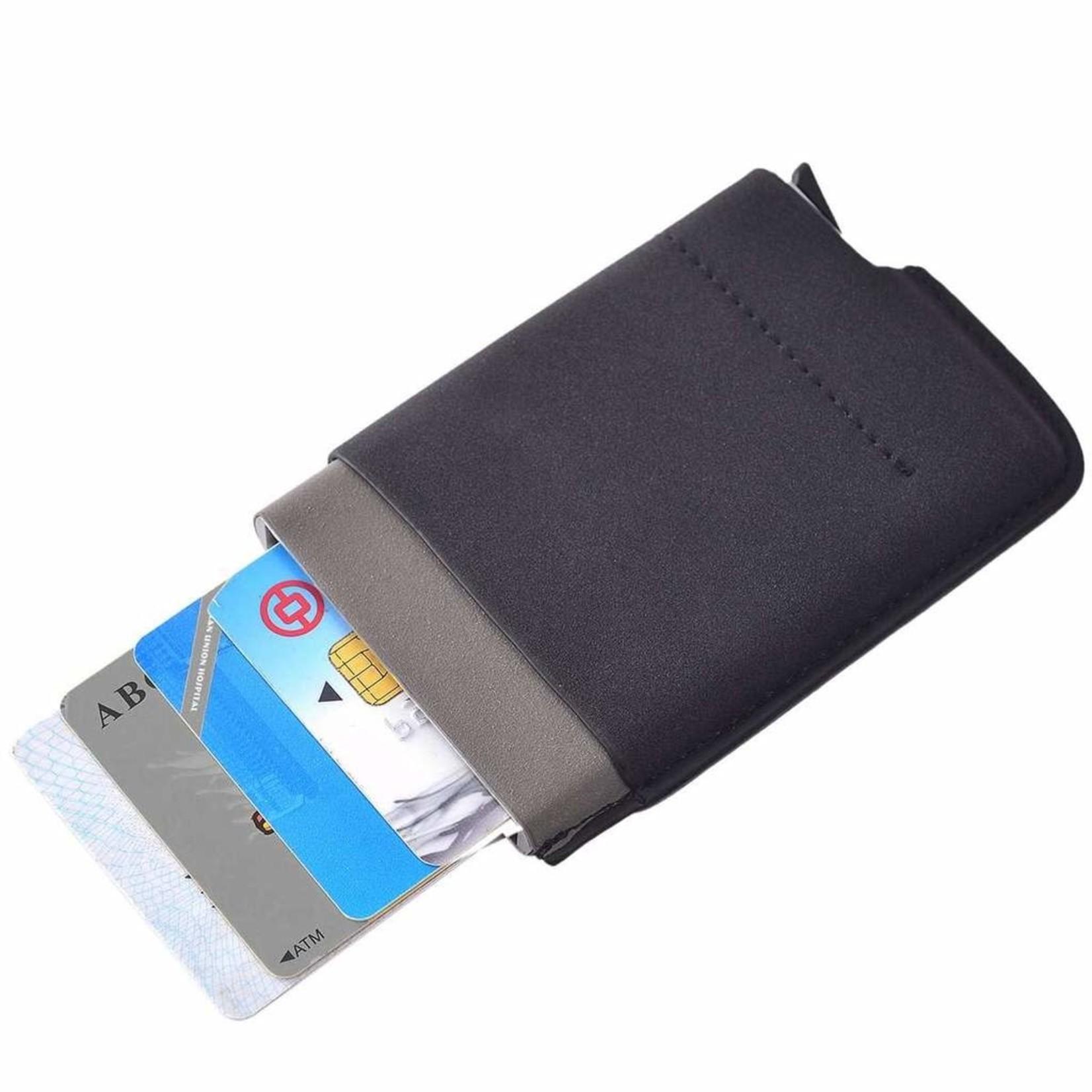 Nicole Brayden Gifts Black Card Blocker RFID Auto Wallet