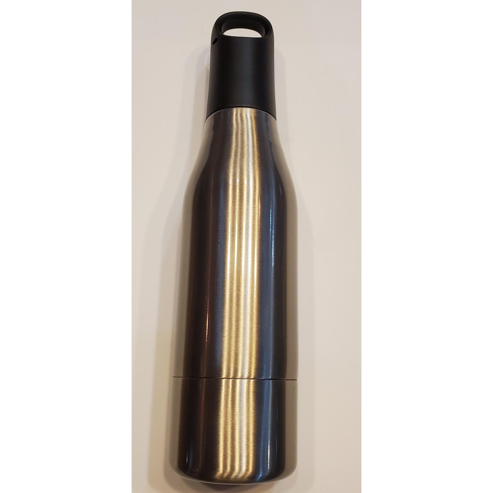 Nicole Brayden Gifts M2O-Silver SS Bottle Cooler