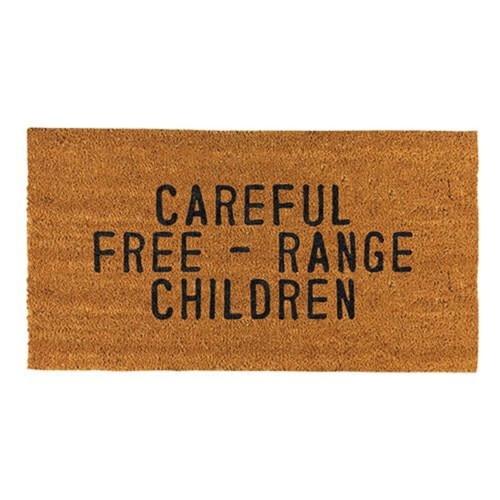 Creative Brands Careful Free Range Children Door Mat