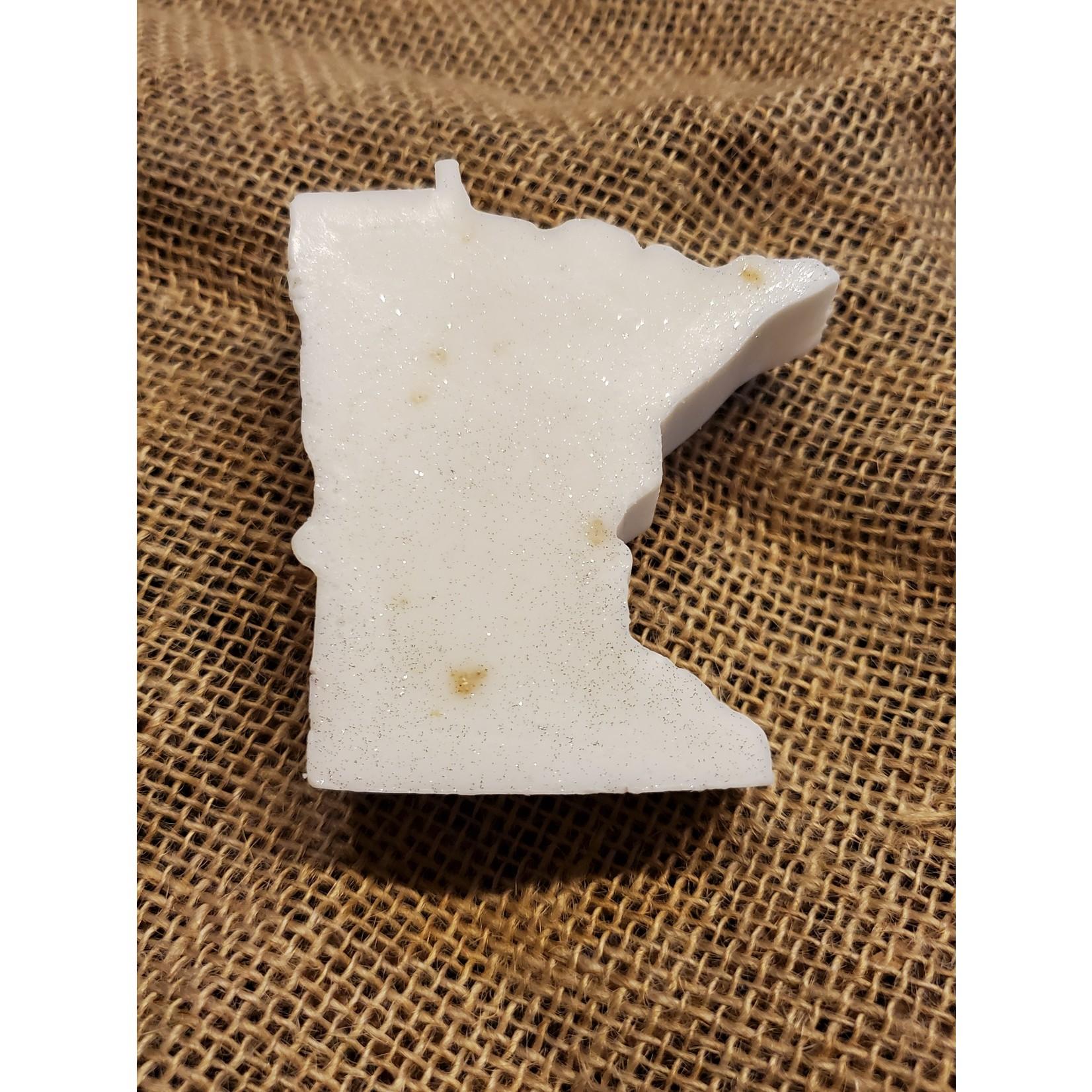 Prairie Girl Soaps & Sundries Minnesota Shape Soaps