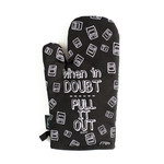 Twisted Wares Snarky: Pull Out Oven Mitt