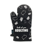 Twisted Wares Snarky: Look At You Adulting Oven Mitt