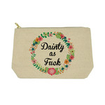 Twisted Wares Snarky: Dainty As F*ck Bag