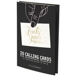 Hachette Book Group Snarky: &*%$ Yeah Calling Cards
