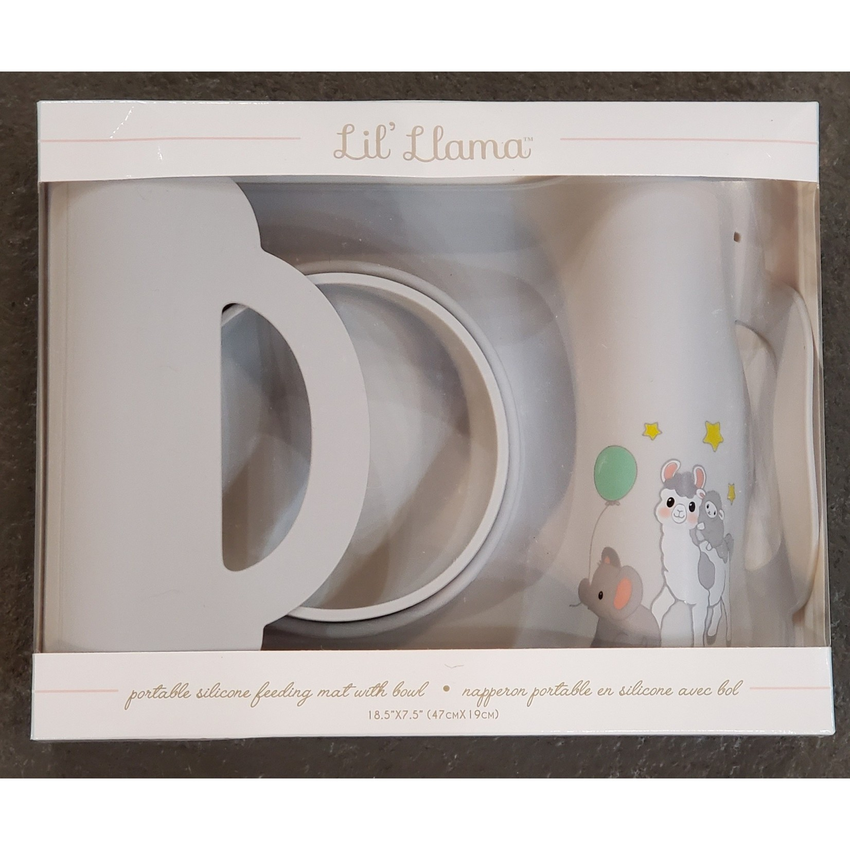 Giftcraft Inc. Lil Llama Silcone Feeding Mat