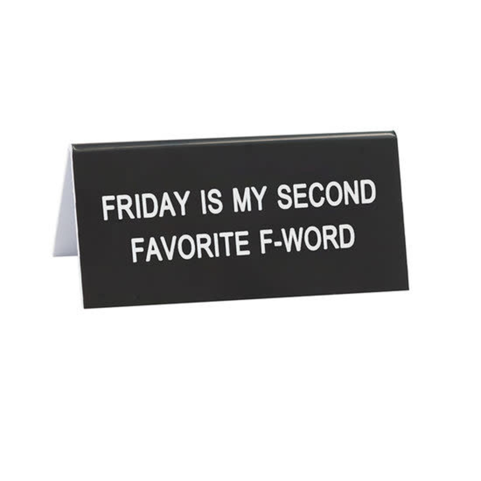 About Face Designs, Inc F-Word Desk Sign