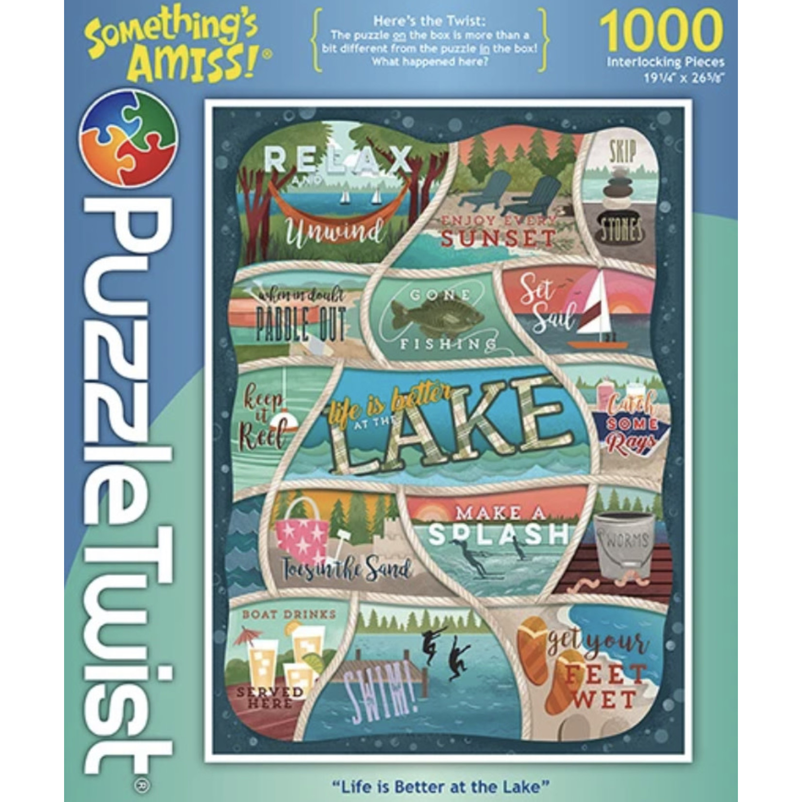 Maynard's LLC Puzzle: Something's Amiss Life is Better at the Lake