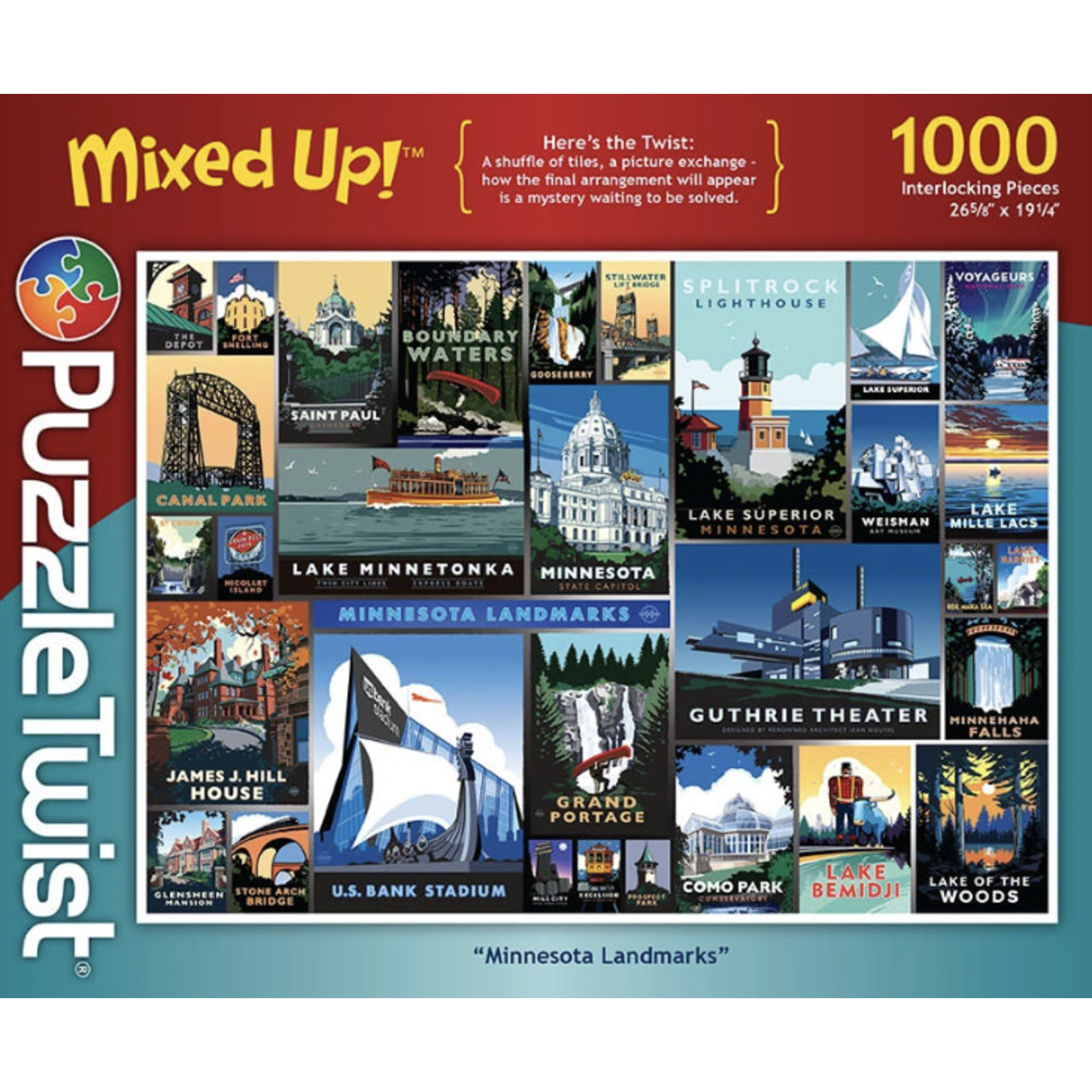 Maynard's LLC Puzzle: Mixed Up Minnesota Landmarks