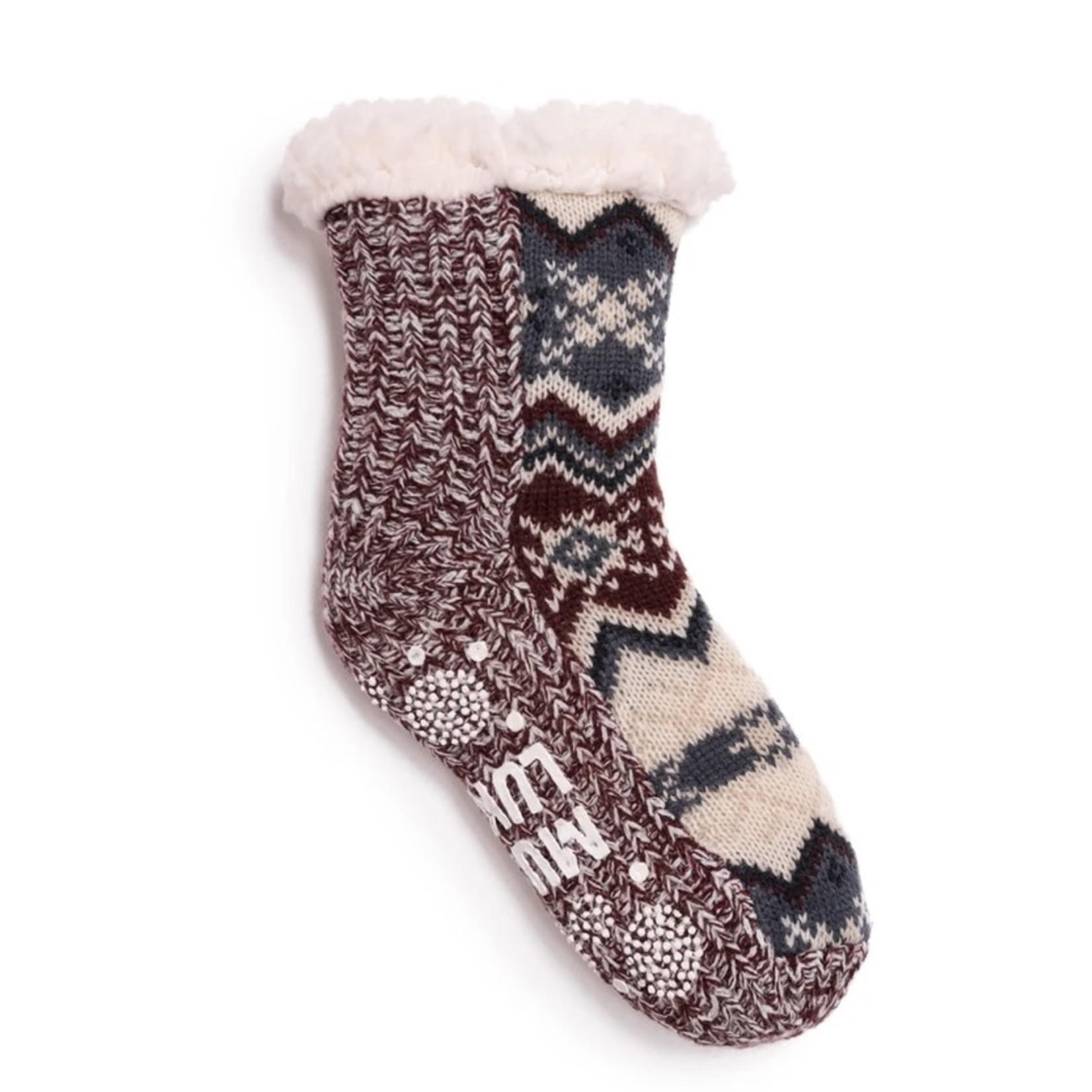 Muk Luks Socks: Cabin Sock