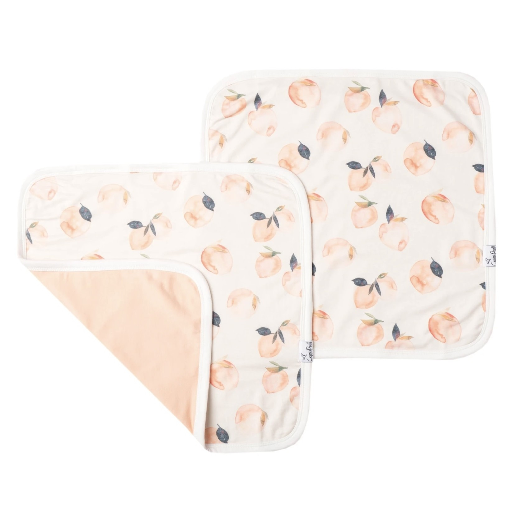 Copper Pearl Security Blanket Set of 2