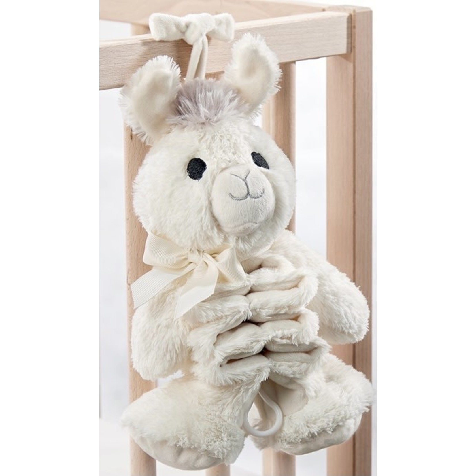 Giftcraft Inc. Lil' Llama Baby Musical Pull Toy