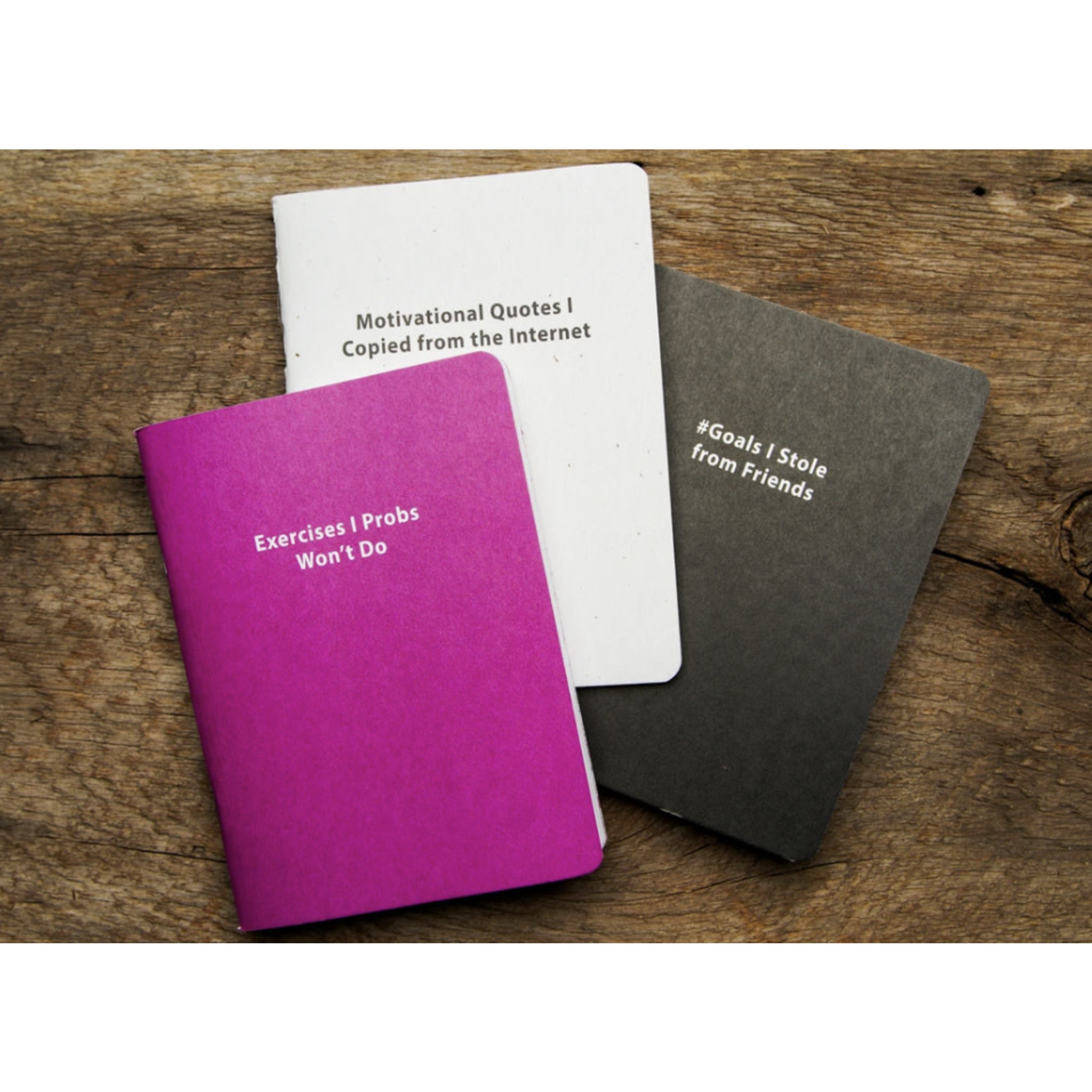 Whiskey River Soap Journal: Set of Three