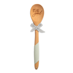 Brownlow Gifts Grey Wooden Spoon: