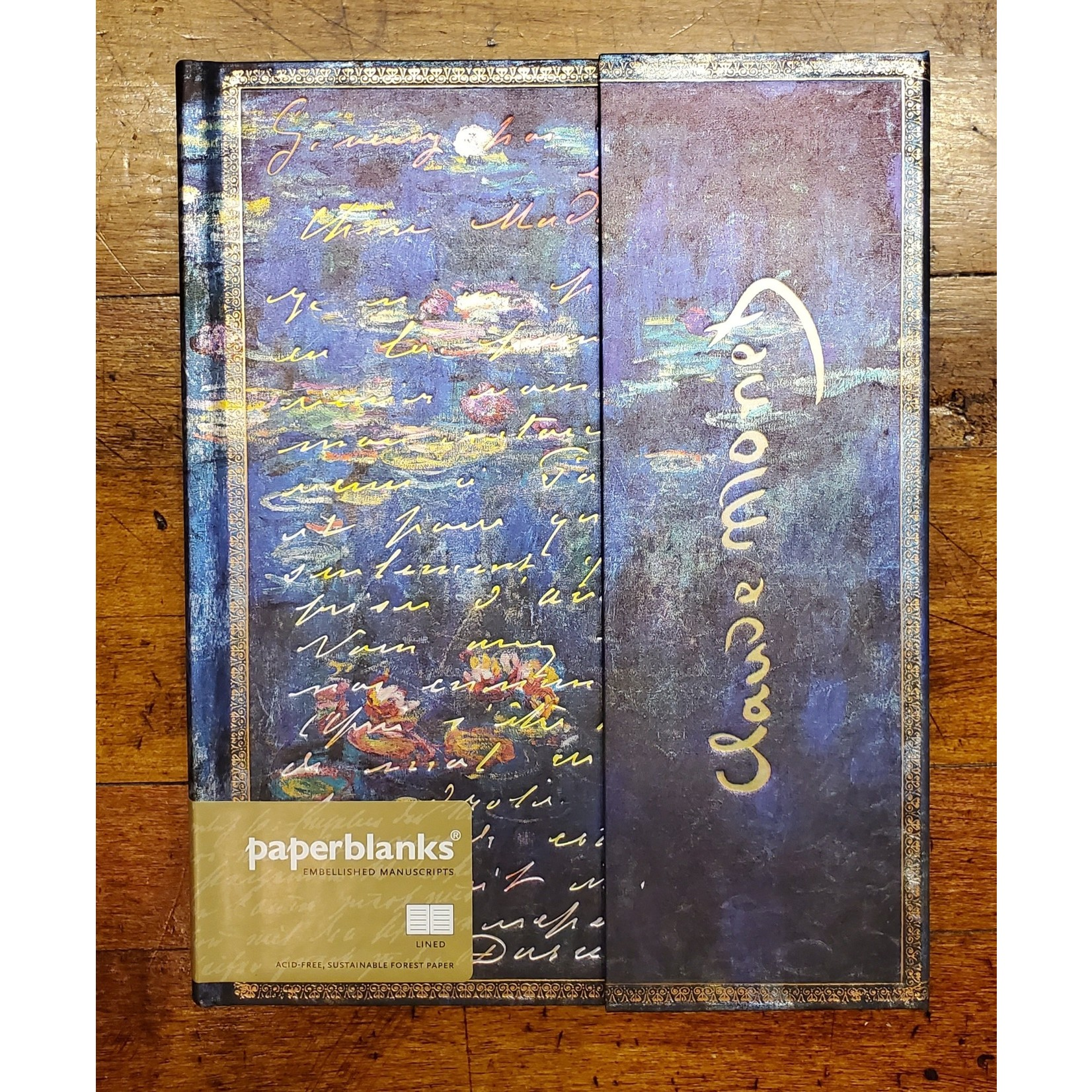 Paperblanks Journal: Monet, Water Lillies, Ultra
