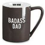 Pavilion Gift Co. Mug: Bada** Dad- 18oz.