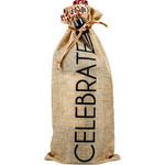 Pavilion Gift Co. Wine Bag: Celebrate