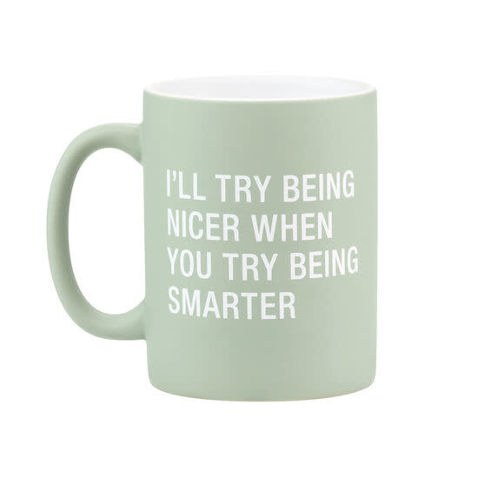 About Face Designs, Inc Mug: Being Smarter